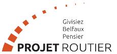 Projet routier Givisiez Belfaux Pensier Logo